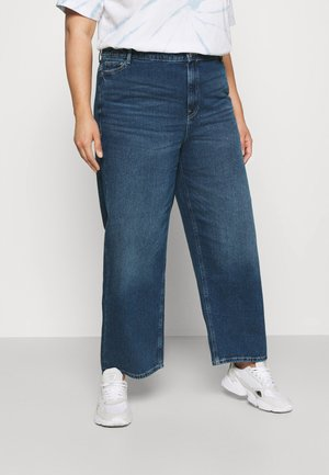 NMBROOKE ANKLE DAD - Jeans relaxed fit - medium blue denim
