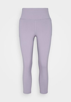 MERIDIAN CROP - Leggings - slate purple