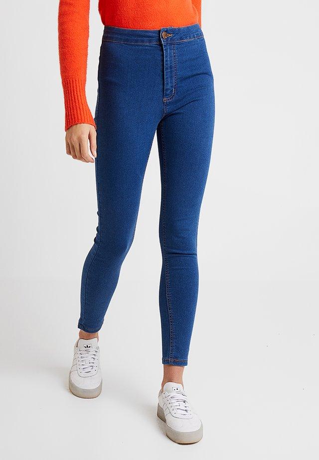 HIGH RISE - Skinny džíny - retro mid blue