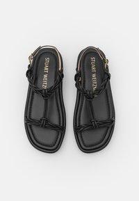 Stuart Weitzman - CALYPSO LIFT - Sandály na platformě - black - 4