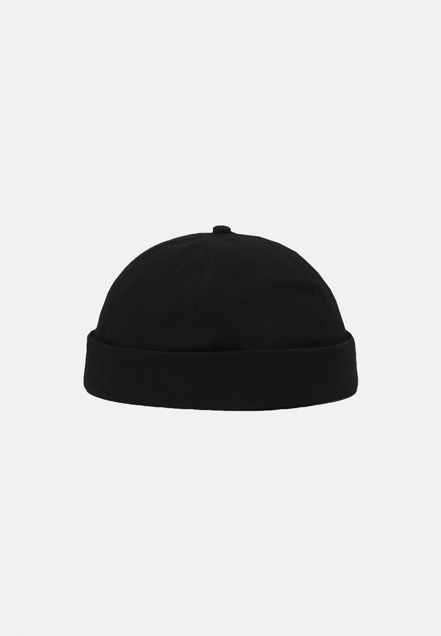 BLACK TWILL DOCKER  - Hat - black