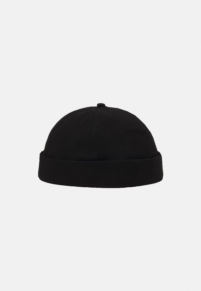 Topman - BLACK TWILL DOCKER  - Hat - black