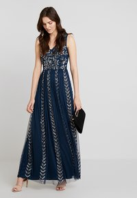 Lace & Beads - ACKLEY MAXI - Occasion wear - navy - 2