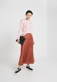 2nd Day - HOUSTON - Maxi skirt - red ochre - 1