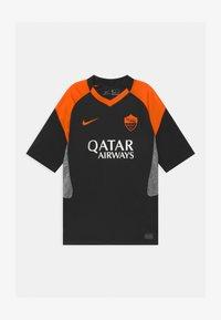 Nike Performance - AS ROM UNISEX - Club wear - black/safety orange - 0