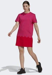 adidas Performance - MARIMEKKO  - Jersey dress - pink - 0
