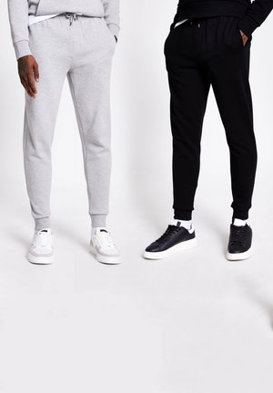 TRACKSUIT BOTTOMS  PACK - Pantaloni sportivi - black
