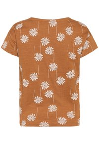 Mainio - T-shirt imprimé - bone brown - 1