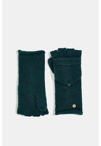 edc by Esprit - Fingerless gloves - dark teal green - 3