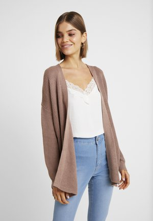 ARCHY CARDIGAN - Strickjacke - brownie