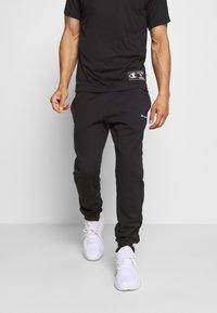 Champion - LEGACY CUFF PANTS - Pantaloni sportivi - black - 0