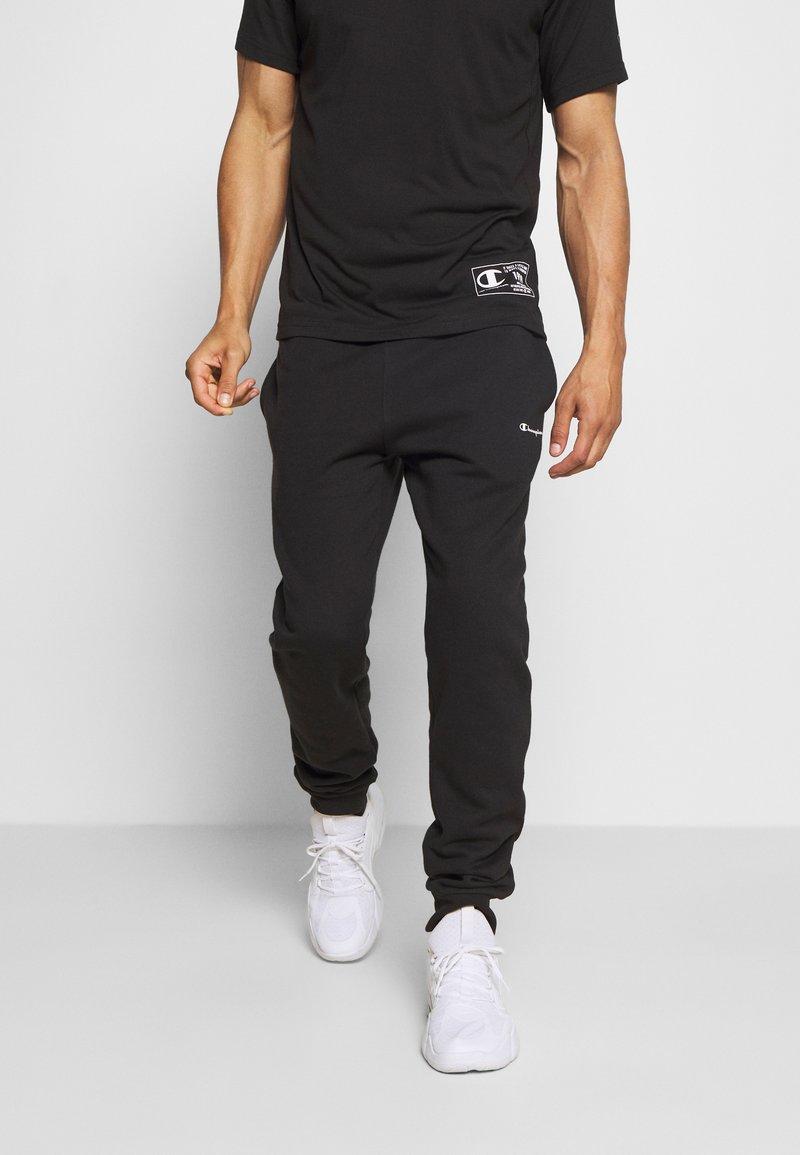 Champion - LEGACY CUFF PANTS - Teplákové kalhoty - black