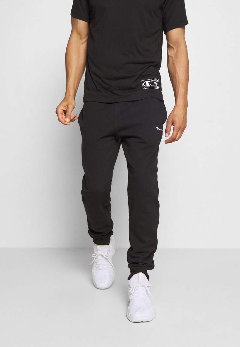 Champion - LEGACY CUFF PANTS - Pantaloni sportivi - black