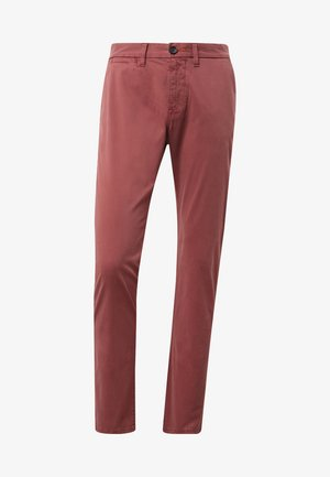 TRAVIS  - Chinos - rouge red