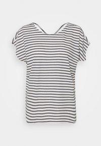 Vero Moda - VMALONA - Basic T-shirt - navy blazer/white - 5
