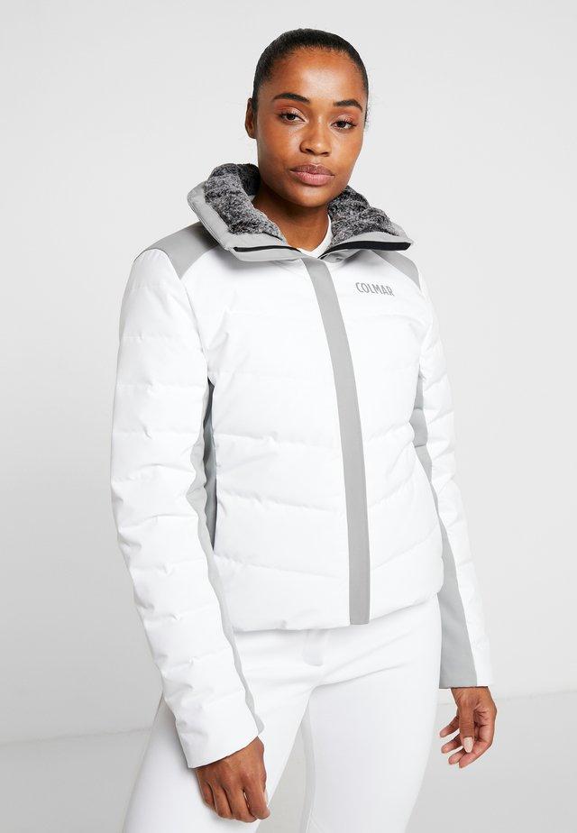 Skijakke - white/greystone