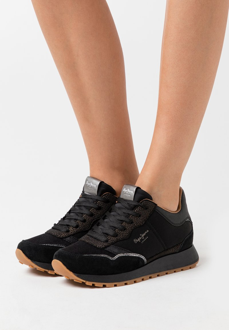 Pepe Jeans - DEAN NASS - Zapatillas - black