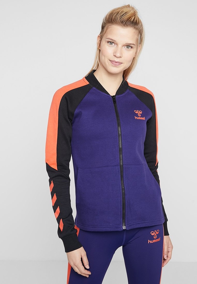 Hummel - HMLSPICY ZIP JACKET - Training jacket - astral aura