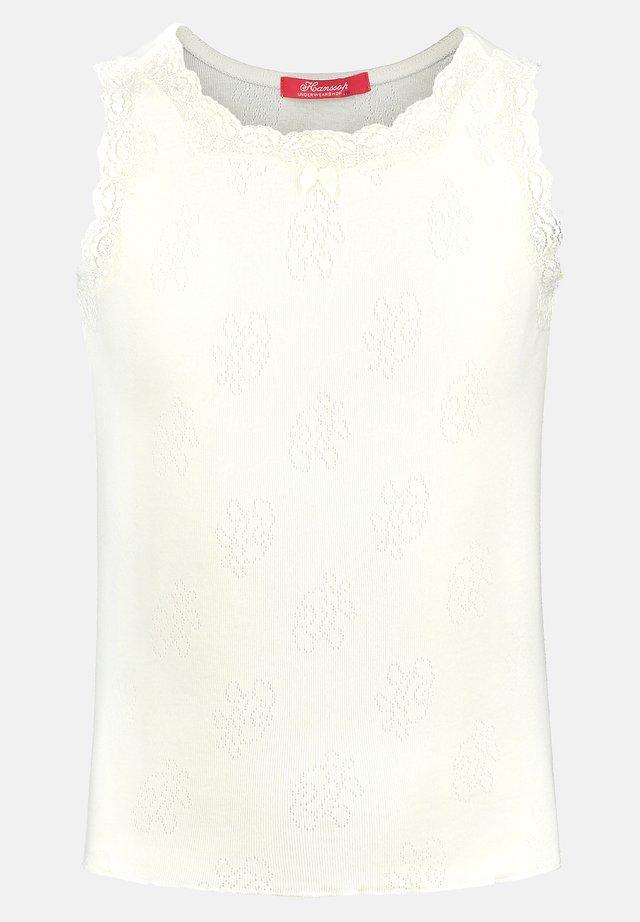 POINTELLE ROSE - Caraco - ivory