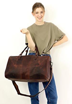 VALTER - Weekend bag - camel