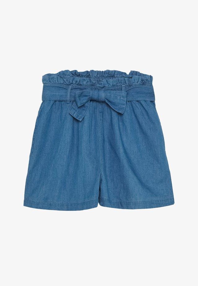 TEENAGER - Shorts di jeans - light blue denim