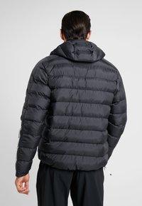 adidas Performance - ITAVIC STRIPES - Vinterjakker - black - 2