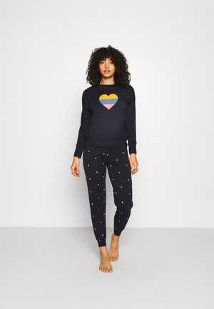 HEART - Pyjamas - navy mix