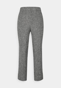 Carin Wester - TROUSERS LOWE  - Bukse - black/white - 5