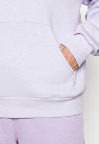Monki - Hoodie - lilac purple dusty light solid - 4