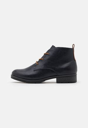 Ankle boots - navy