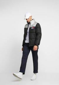Tommy Jeans - JACKET - Gewatteerde jas - metallic/black - 1