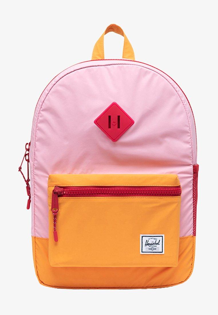 Herschel - School bag - candy pink reflective/blazing orange reflective/red light
