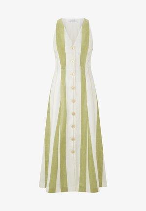Vestido camisero - moss green