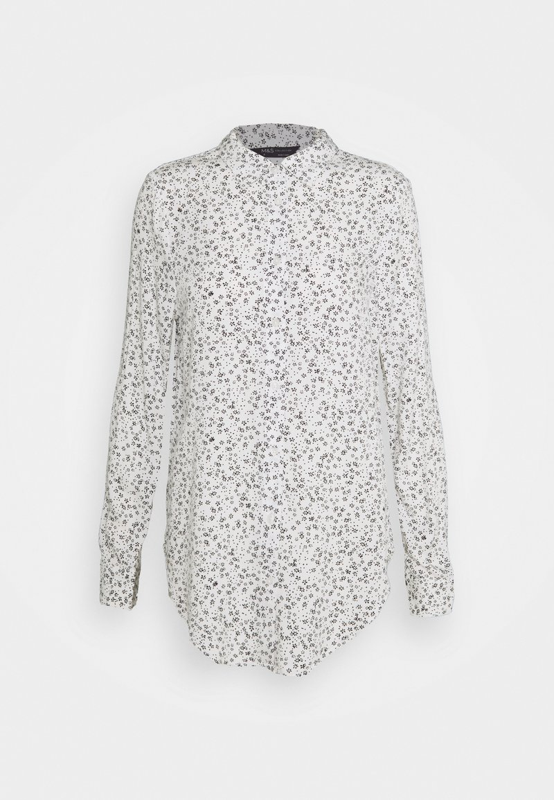 Marks & Spencer London - DITSY CASUAL - Button-down blouse - off-white