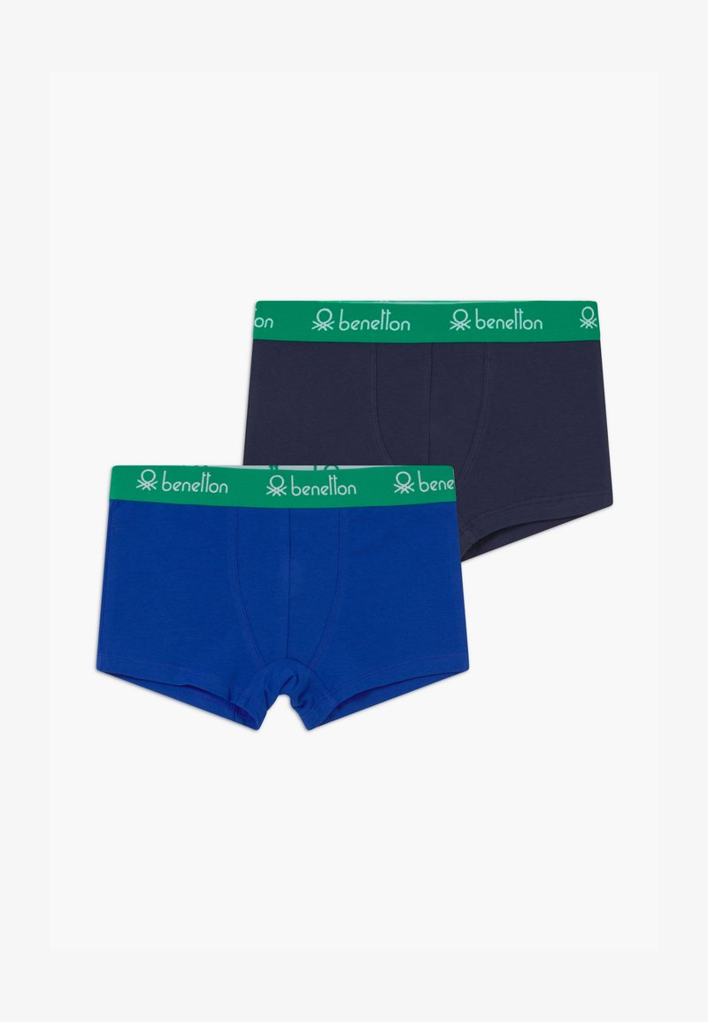 Benetton - LUTK FASHION 2 PACK - Pants - dark blue