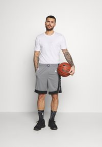 Nike Performance - NBA BROOKLYN NETS SWINGMAN SHORT - Sports shorts - dark steel grey/black/white - 1