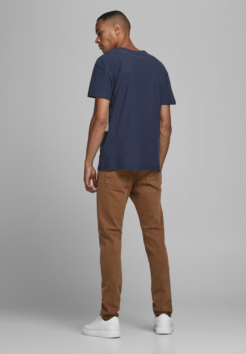 Jack & Jones Print T-shirt - navy blazer kqLh4