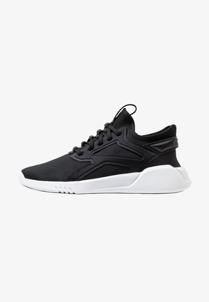 FREESTYLE MOTION - Neutral running shoes - black/white