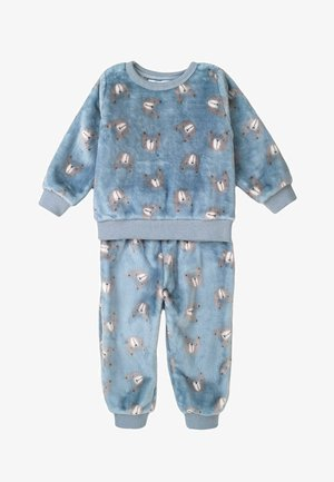 SET - Pyjama set - light blue/grey