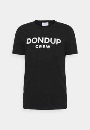 T-SHIRT - Print T-shirt - black