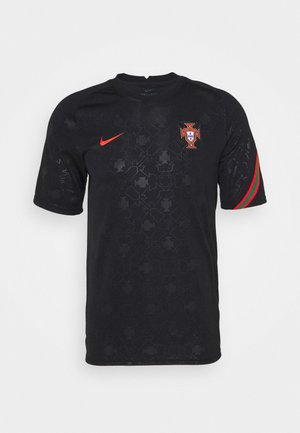 PORTUGAL FPF  - Article de supporter - black/challenge red
