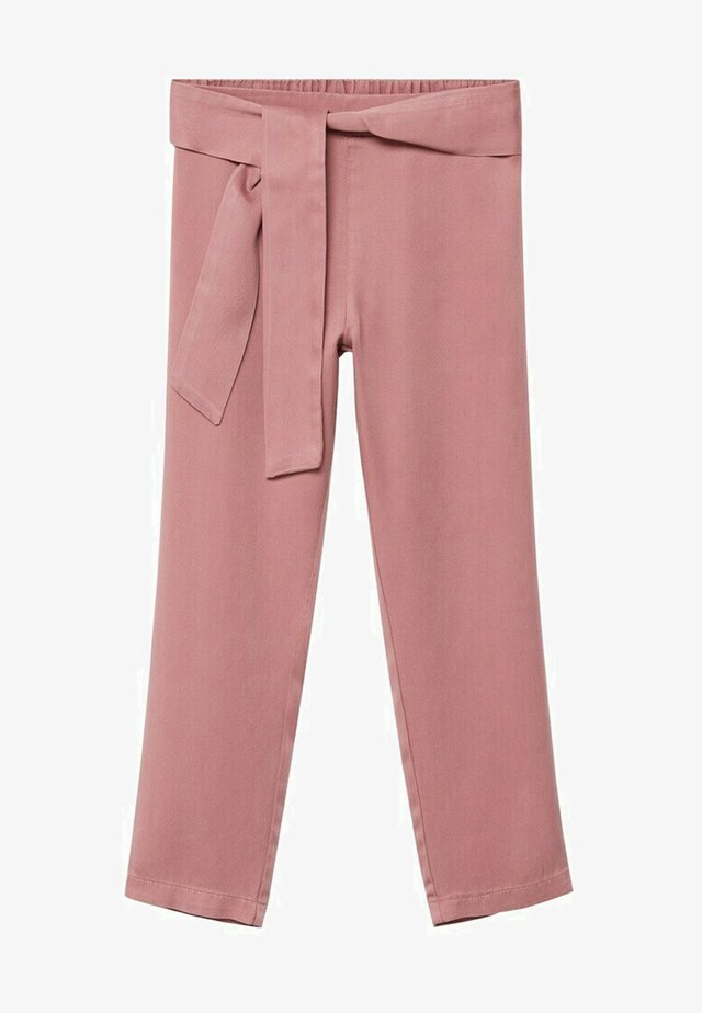 AMELIE - Pantalon classique - strawberry