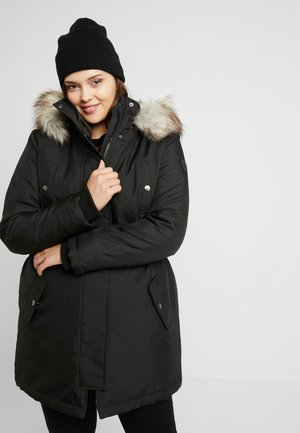 CARIRENA COAT - Winterjas - black
