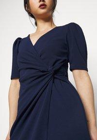 SISTA GLAM PETITE - Shift dress - navy - 4