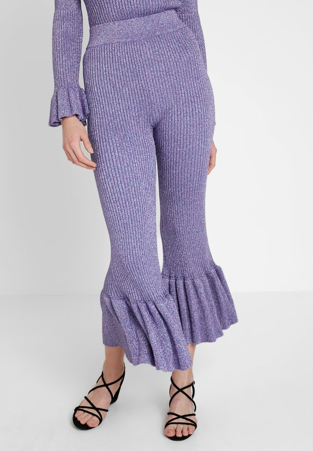 LOVE PANT - Trousers - lavender
