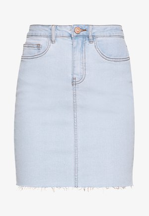CALLIE SHORT SKIRT  - Jeansskjørt - light blue denim
