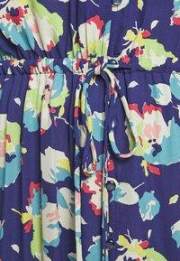Lauren Ralph Lauren - DRAPEY POLY  - Denní šaty - blue multi - 7