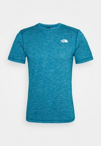The North Face - LIGHTNING TEE - Basic T-shirt - morrocan blue heather - 0