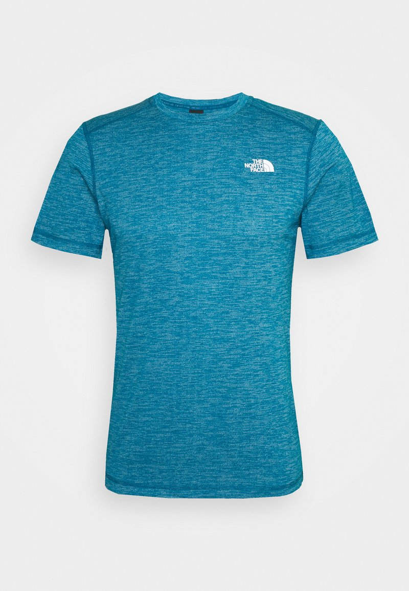 The North Face - LIGHTNING TEE - Basic T-shirt - morrocan blue heather