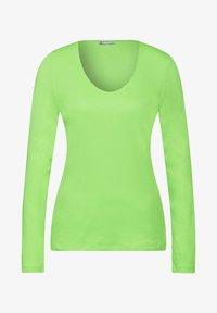 Street One - BASIC STYLE - Long sleeved top - grün - 1
